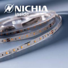 LumiFlex 35 Nichia LED Strip warm white 2700K 1220lm 24V 70 LEDs/m price for 50cm (1220lm/m 9.6W/m)