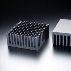 Heatsink square 38x38mm for LED <300lm