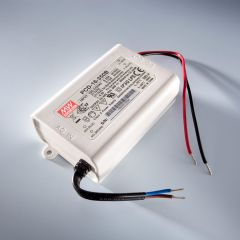 Constant Current LED Driver Mean Well PCD-40-1050B IP30 700mA 230V to 34 > 57VDC DIM