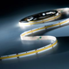 LumiFlex COB LED Strip with continuous light warm white CRI90 2700K 5690lm 24V 5m reel (1121lm/m and 10W/m)