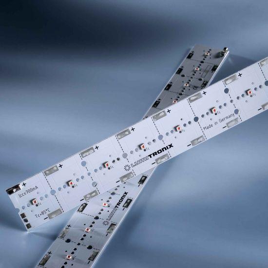 PowerBar V3 LED Module Aluminium amber 617nm 2220lm 700mA 12x Osram Oslon SSL LEDs 29cm (7656lm/m)