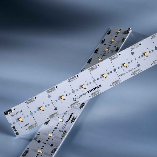 PowerBar V3 LED Module Aluminium neutral white 4000K 3100lm 700mA 12x Osram Oslon LEDs 29cm (10690lm/m)