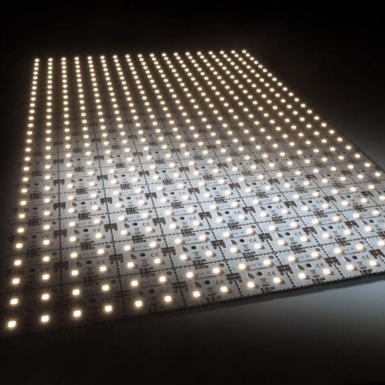 Nichia LED Backlight Module Matrix Mini 126 segments (9x14) 504 LEDs 24V White 3500K 60.5W 9175m