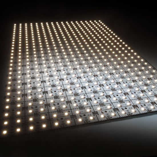 Nichia LED Backlight Module Matrix Mini 126 segments (9x14) 504 LEDs 24V White 5000K 60.5W 10040lm