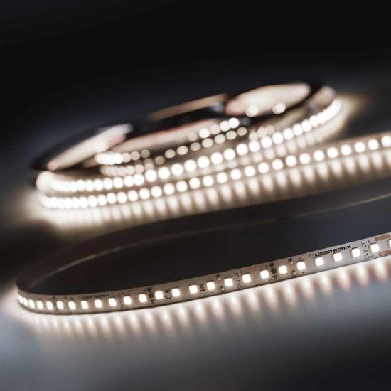 LumiFlex 700 Pro Nichia LED Strip neutral white CRI90 4000K 12150lm 24V 140 LEDs/m 5m reel (2430lm/m 19.2W/m)