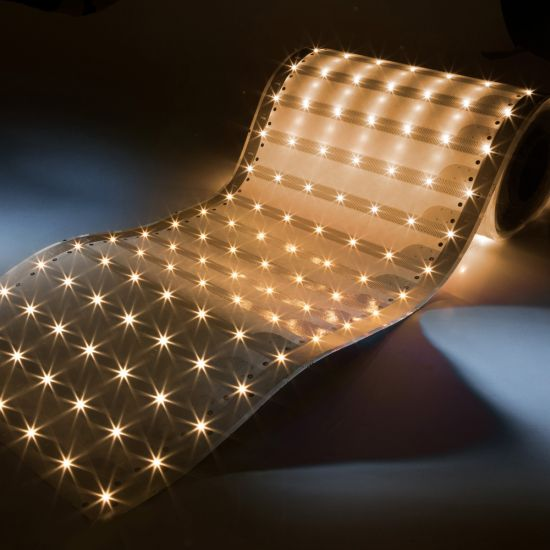 Paper-Flex Osram LED Strip 1.5m length 147 LEDs warm white 2700K 24V 35cm wide (1100lm/m & 140 LEDs/m)
