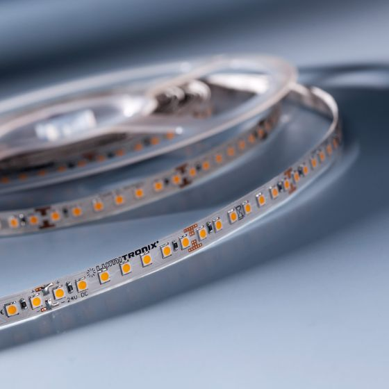 LumiFlex 70 Nichia LED Strip warm white 2700K 2440lm 24V 140 LEDs/m price for 50cm (2440lm/m 19.2W/m)