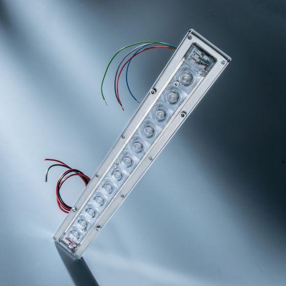 Violet UVC Seoul Viosys LED Module 275nm 12 LEDs 192mW 29cm 600mA for disinfection