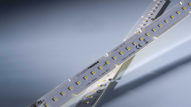 Nichia 757: LinearZ LED strips with luminous flux up to 4100 lm / m