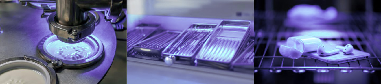High performance UVC LED disinfection and sterilization light for industrial and professional applications