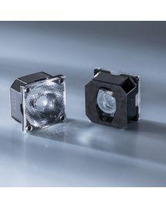 Ledil Lens FCA15007_G2-ROSE-UV-SS 15 deg for Nichia UV LED NVSU233A and Powerbar V3 365, 385nm UV