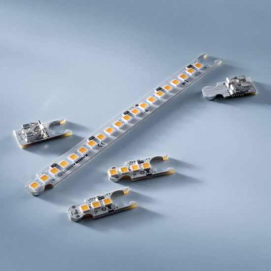 ConextBar 4 LED Strip warm white CRI90 2700K 64lm 24V 4 LEDs 2.07cm module
