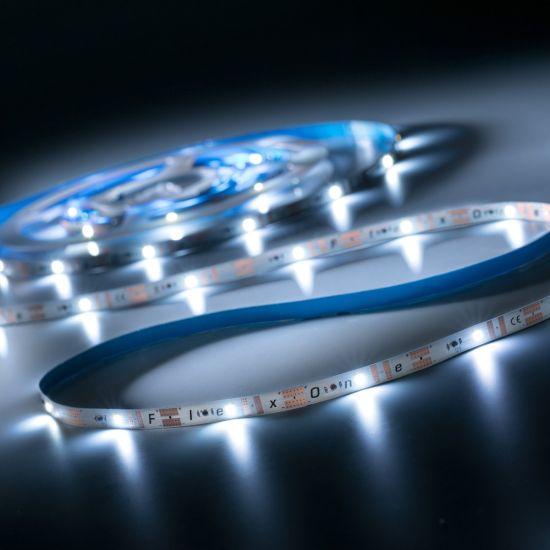 FlexOne 100 Samsung LED Strip warm white 2700K 6090lm 12V 20 LEDs/m 5m reel (1218lm/m 16.8W/m)
