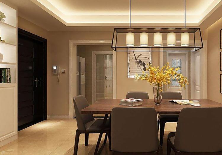 Living room lighting with indirect lighting via Nichia Lumistrips in cove lights