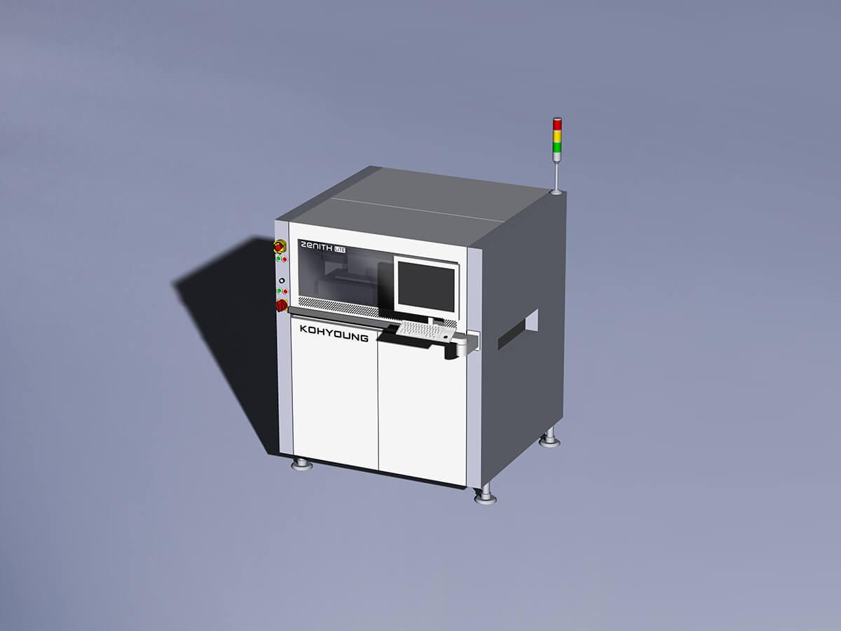 Automatic optical 3D inspection Nichia module production